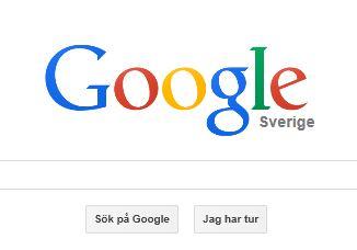 Bild på Googles sökfönster